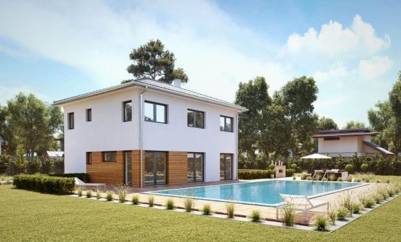 passivhaus von haas modern und effizient haas fertighaus. Black Bedroom Furniture Sets. Home Design Ideas