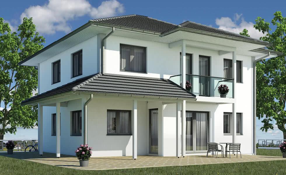 haus mit erker und balkon wohn design. Black Bedroom Furniture Sets. Home Design Ideas