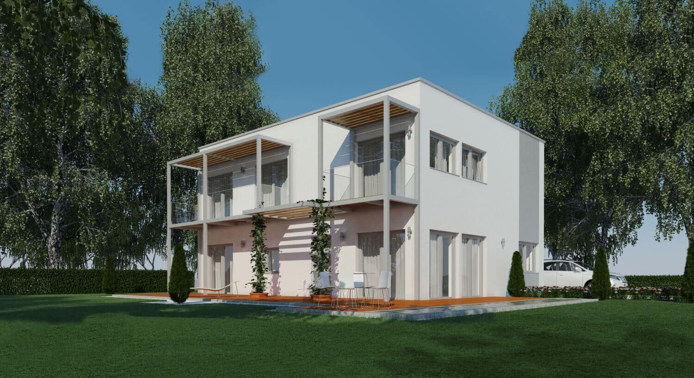 passivhaus solana 182 haas fertighaus. Black Bedroom Furniture Sets. Home Design Ideas